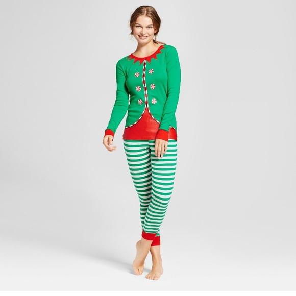 elf christmas pajamas - Elf Christmas Pajamas